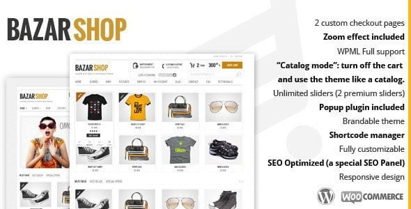 Bazar Shop e-Commerce Theme