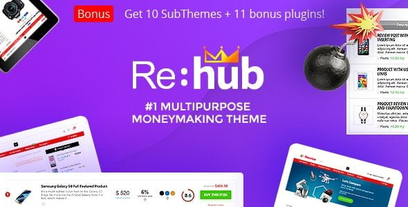 REHub – Price Comparison, Multi Vendor Marketplace