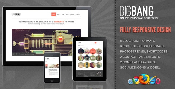 Bigbang – Responsive WordPress Theme
