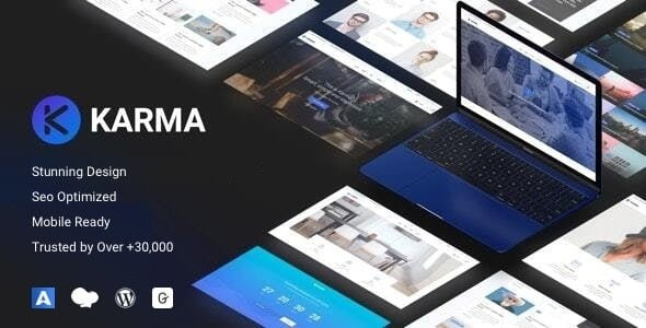 Karma - Responsive WordPress - Corporate WordPress