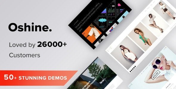 Oshine – Multipurpose Creative WordPress Theme