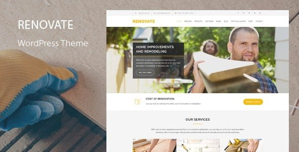 Renovate – Construction Theme