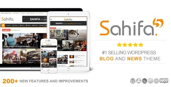 Sahifa – Responsive News / Magazine / Blog Theme
