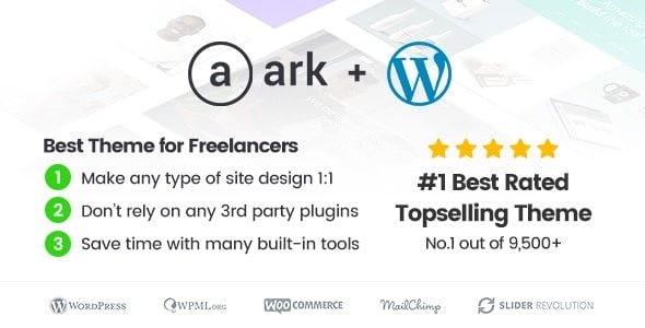 The Ark | WordPress Theme made for Freelancers - Business Corporate