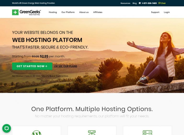 GreenGeeks Web Hosting Reviews & Discounts