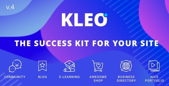 KLEO – Pro Community Focused BuddyPress Theme