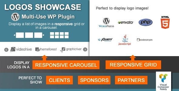 Logos Showcase – Multi-Use Responsive Plugin