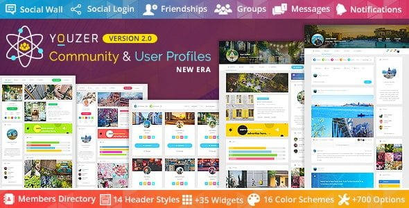 Youzer – Buddypress Community User Profile Plugin