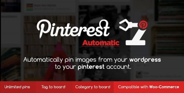 Pinterest Automatic Pin WordPress Plugin