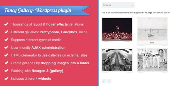 Fancy Gallery – WordPress plugin