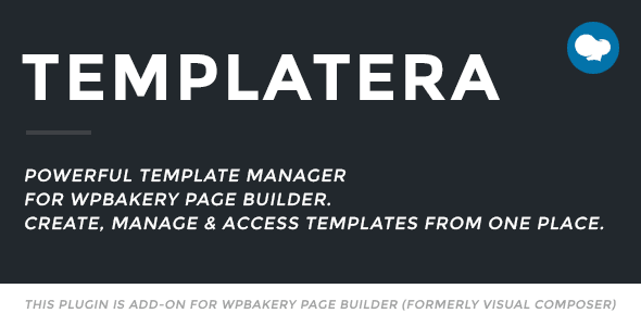 Templatera – Template Manager for WPBakery