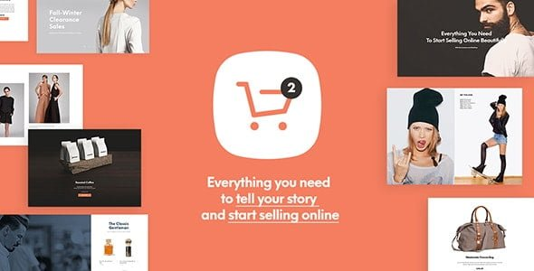 Shopkeeper - eCommerce WordPress Theme for WooCommerce - WooCommerce eCommerce