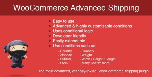 WooCommerce Advanced Shipping - CodeCanyon Item for Sale